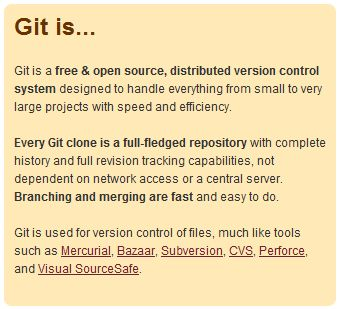 Git Is...