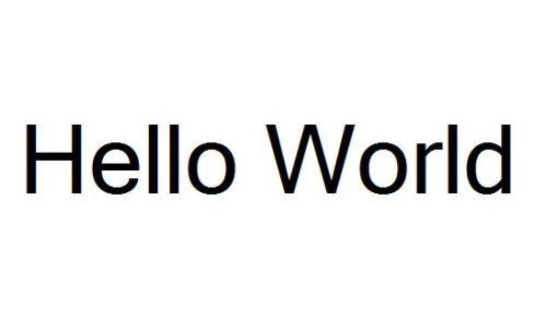 MobileHelloWorld